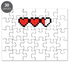 8 Bit Hearts Loosing One 2.png Puzzle