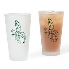 Green Hornet Drinking Glass
