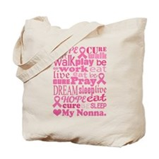 Breast Cancer Hope Nonna Tote Bag