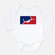 Major League Assault Long Sleeve Infant Bodysuit