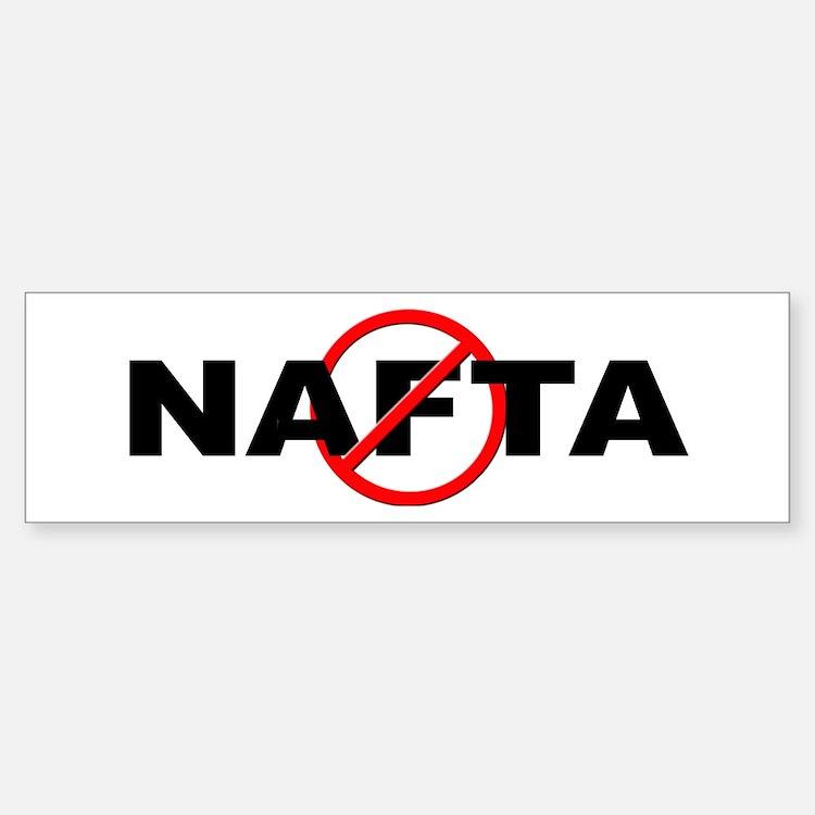 Anti / No NAFTA Bumper Bumper Sticker