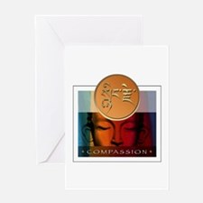 Compassion Buddha Greeting Card