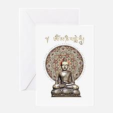Classic Buddha Greeting Card
