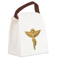 Chiropractic Emblem Canvas Lunch Bag