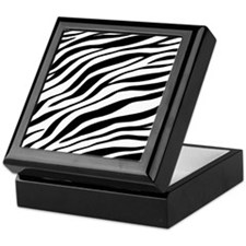 Zebra Print Keepsake Box