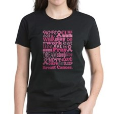 Breast Cancer Hope and Cure Tee