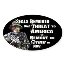 Navy Seals Removed One Threat Bumper Stickers