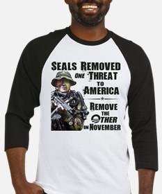 Navy Seals Removed One Threat Baseball Jersey