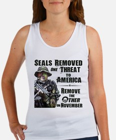 Navy Seals Removed One Threat Women's Tank Top