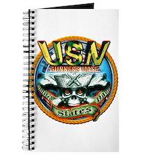 USN Gunners Mate Skull GM Journal