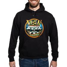 USN Gunners Mate Skull GM Hoodie