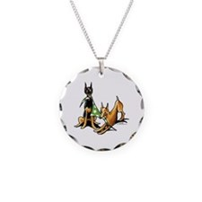Min Pin Apples Necklace