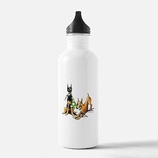 Min Pin Apples Water Bottle