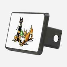 Min Pin Apples Hitch Cover