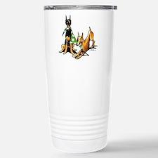 Min Pin Apples Travel Mug