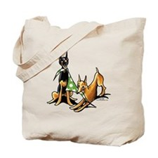 Min Pin Apples Tote Bag