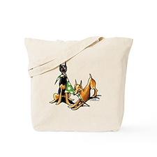 Min Pin Apples Tote Bag