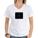 Live Wire Athletics Women's V-Neck T-Shirt