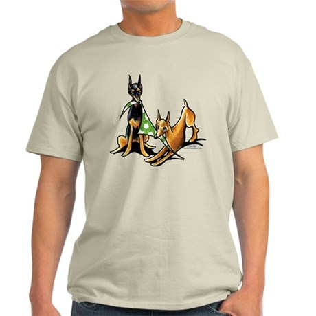 Min Pin Apples Light T-Shirt