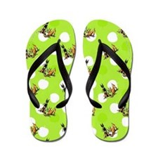Min Pin Apples Flip Flops