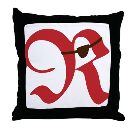 R! Talk Like a Pirate Day. Throw Pillow