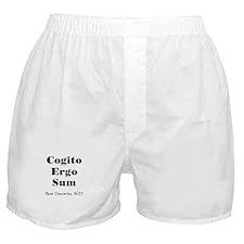 Cogito Ergo Sum Boxer Shorts