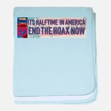 Halftime in America baby blanket