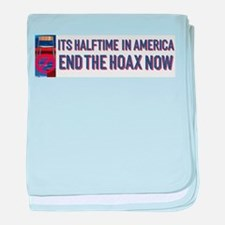 Halftime in America baby blanket