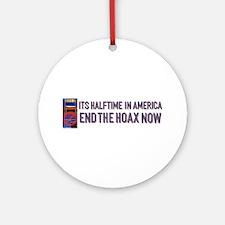 Halftime in America Ornament (Round)