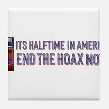 Halftime in America Tile Coaster