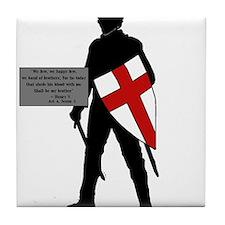 Henry V Tile Coaster