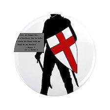 """Henry V 3.5"""" Button"""