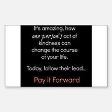 Pay it Forward Decal