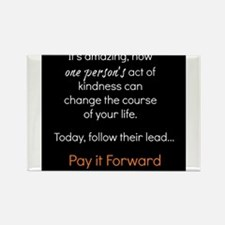 Pay it Forward Rectangle Magnet