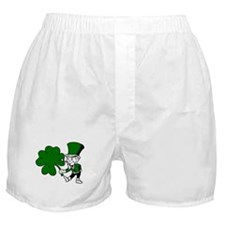 Irish Leprechaun Boxer Shorts
