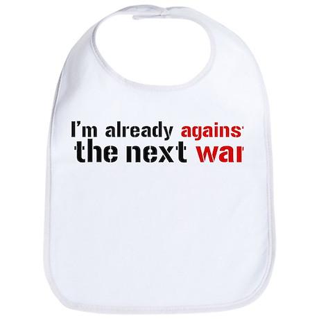 Against The Next War Bib