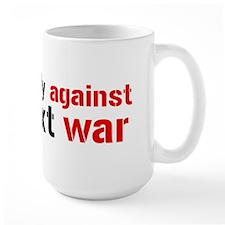 Against The Next War Mug