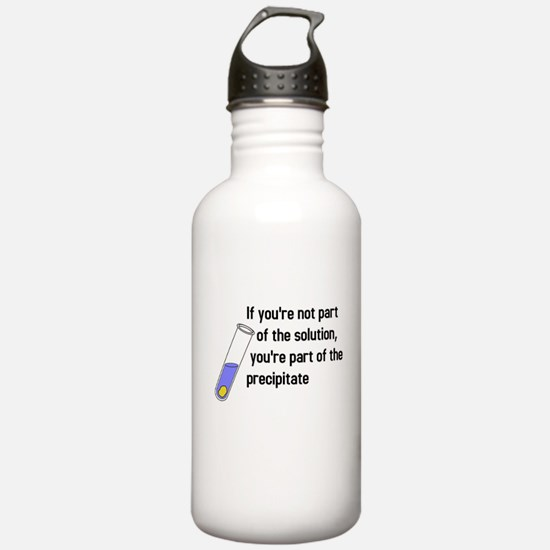 Not part of the solution Water Bottle