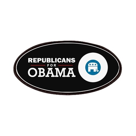 Republicans for Obama Patches