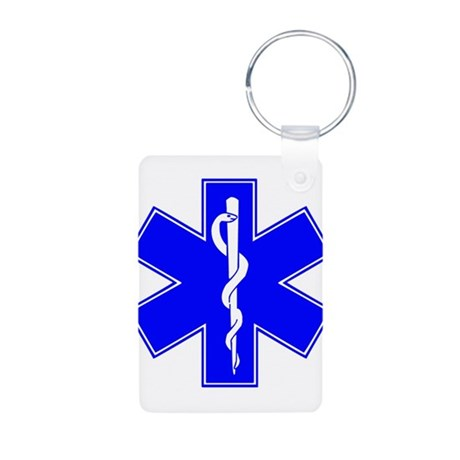 ems star of life Aluminum Photo Keychain