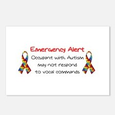 Autism Alert.bmp Postcards (Package of 8)