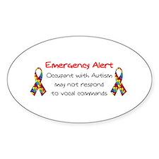 Autism Alert.bmp Bumper Stickers