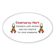 Autism Alert.bmp Decal