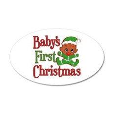 Elf Cookie 1st Christmas Wall Decal