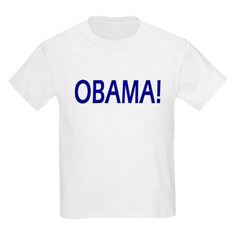 Obama Exclamation Kids Light T-Shirt