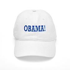 Obama Exclamation Baseball Cap