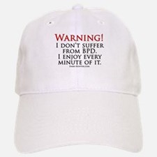 Warning BPD Baseball Baseball Cap