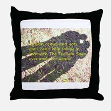 Falling in love with The Twilight Saga Throw Pillo