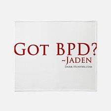 Got BPD? Throw Blanket