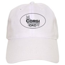 Pembroke Corgi DAD Baseball Cap